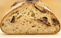 Country Sourdough Boule With Chocolate