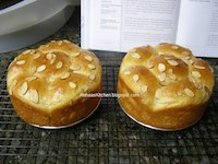 Brioche Cake With Caramel Custard Cream