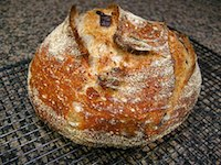 Black Olive Sourdough