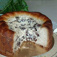 Sweet Yeast Cake With Cottage-cheese