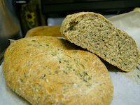 Whole Wheat Spinach Bread