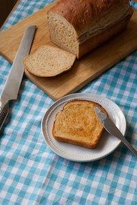 Milk And Cornflakes Bread
