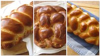 Daring Bakers Challah - 3 Variations