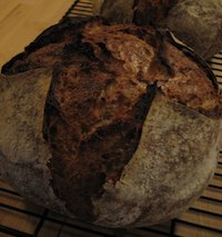 Oat-Flax Sourdough