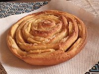 Spiral Apple Bread