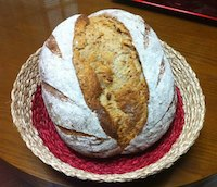 Five-Grain Sourdough With Rye Sourdough