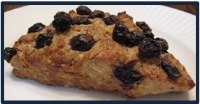 Susan's Blueberry Sourdough Scones