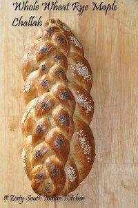 Whole Wheat Rye Maple Challah