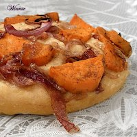 Sweet-Potato And Red-Onion Focaccia