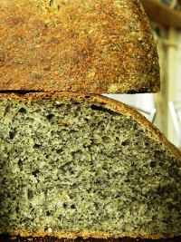 Sesame, Spelt, Semolina And Sourdough Bread