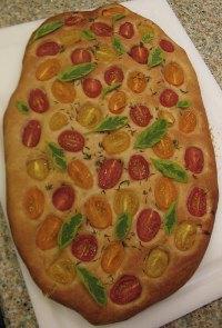 Focaccia Al Pomodori
