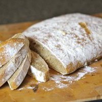 Whole-Wheat Sourdough Ciabatta