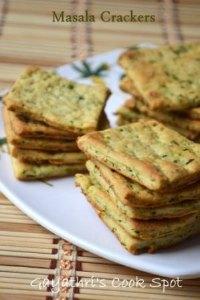 Masala Crackers