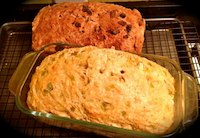 Quick Breads (Cinnamon Raisin/Green Chile Cheese)