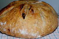 Sourdough With Fig And Flax