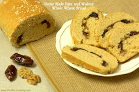 Date And Walnut Whole Wheat Bread