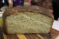No Knead Oat And Honey Bread