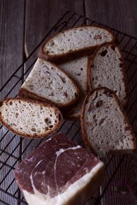 Light Rye Sourdough With Ham And Cheese
