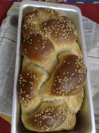 Egg Less White Sandwich Bread With Oat Flour
