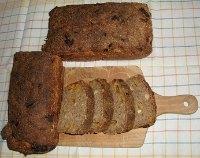 100% Stone Ground Rye Sourdough Loaves