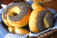 Wild Yeast's 100% Sourdough Bagels