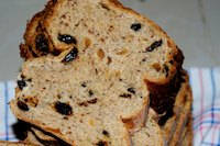 Raisin Sourdough Bread With Mango