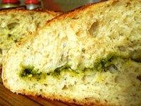 Rocket Pesto Sourdough Bread