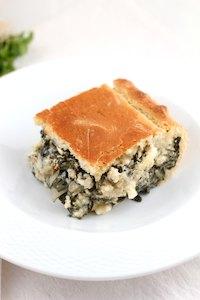 Vegetarian Chard, Fennel & Feta Savory Pie