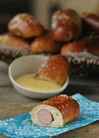 Frankfurt Pretzels With Honey Mustard Sauce