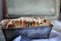 Garlic, Parsley And Parmesan Pull Apart Bread