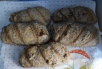 Sourdough Small Loaves With Mineral Water