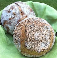 Seeded Semolina Bread + Sweet Variation