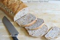 Apple Cinnamon Raisin Bread