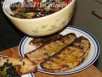 Grilled Bread With Barbecued Vegetables, Etc.