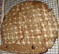 Stenciled Rye-Spelt Sourdough