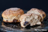 Cinnamon Sugar Crusted Scones