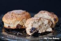 Cinnamon Sugar Crusted Scones