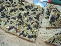 Feta And Olive Herb Focaccia