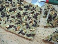 Feta And Olive Herb Focaccia