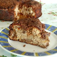 Apricot Yeast Coffee Cake