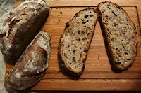Hamelman's Sourdough Rye With Raisins And Walnuts