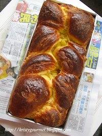 Soft Butter Danish Loaf