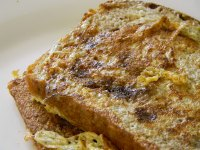 Buttermilk French Toast On Cinnamon Raisin Bread
