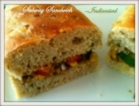 Subway Sandwich Indianised