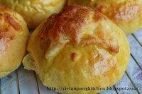 Char Siew Buns With Pumpkin Dough