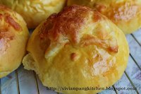 Char Siew Buns With Pumpkin Dough