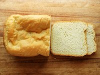 Bread Machine Semolina Loaf