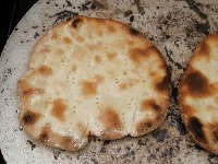 Grilled Sourdough Flatbread