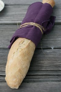 Baguettes (no-knead)
