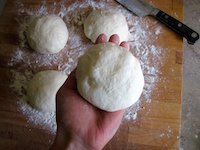 No-Knead Neapolitan-Style Sourdough Pizza Dough